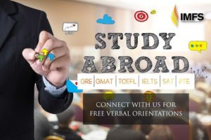 GRE student counselor, GRE coaching to study abroad